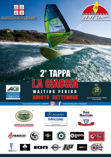 Campionato Wave Waiting period per La Ciaccia, seconda tappa