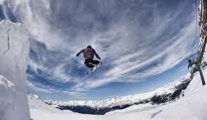 Al Passo Costalunga per la Coppa del Mondo di Snowboard