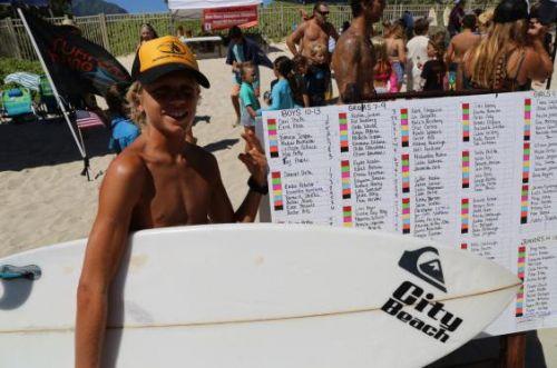 Tommaso Scoppa al 13° Shorebreak Classic