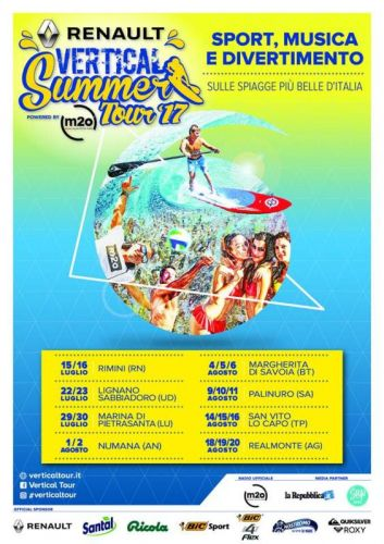 Al Vertical Summer Tour con Quiksilver e Roxy