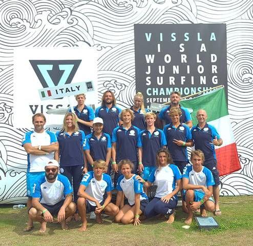 L'esperienza dei nostri giovani ai mondiali di surf in Giappone
