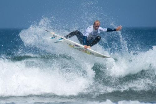 Angelo Bonomelli agli ISA World Surfing Games