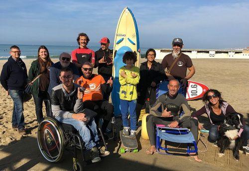 Surf e Sup per persone disabili