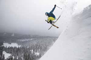 Che bello sciare con il materiale di Columbia e Salice