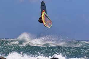 Il siciliano Francesco Cappuzzo campione nazionale Wave Windsurf per la seconda volta