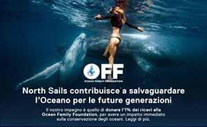 Preserviamo l'oceano per le generazioni future. North sails