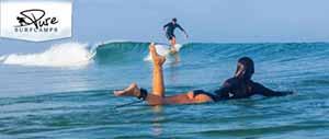 Scegli ora le tue prossime vacanze di surf, scegli Puresurfcamps