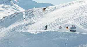 Davide Boggio allo Snowpark Mottolino di Livigno