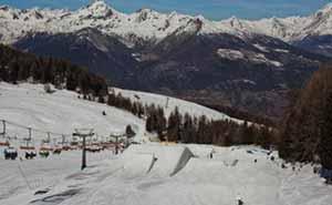 Lo snowpark di Pila