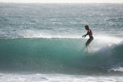 Matteo Fabbri ai FISW Surf Games 2017 foto Alessandro Tocco