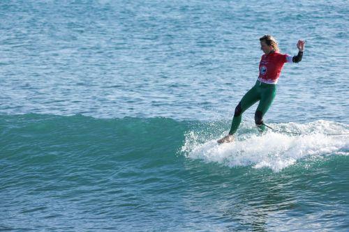 Francesca Rubegni ai FISW Surf Games 2017 foto Alessandro Tocco