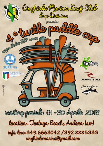 IV Turtle Paddle Cup: Semaforo Verde
