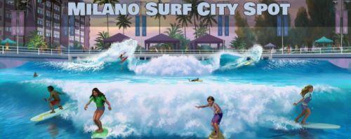 Milano, capitale del Surf City, prima città italiana dove fare Surf tutto l'anno