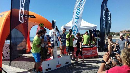 SUP Race: Capparella e Stenta vincono a Livorno
