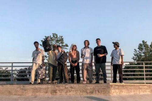 Premiazioni al DC Skate With Us