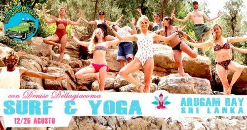 ARUGAM BAY | SURF + YOGA con Denise Dellagiacoma