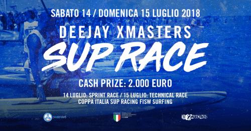 DEEJAY Xmasters SUP Race: sarà Super Lap
