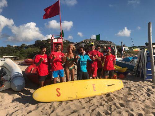 Concluso lo stage alla Marinedda dedicato ai lifeguard
