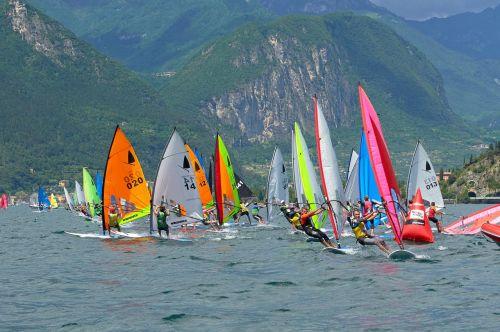Gran finale al Torbole Windsurfer World Trophy