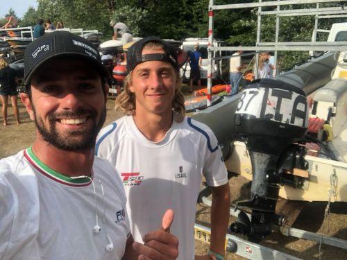 Nicolò Renna Campione del Mondo della classe olimpica giovanile Techno Plus