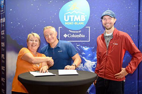 Columbia estende la sua sponsorship con l'UTMB Trail Running