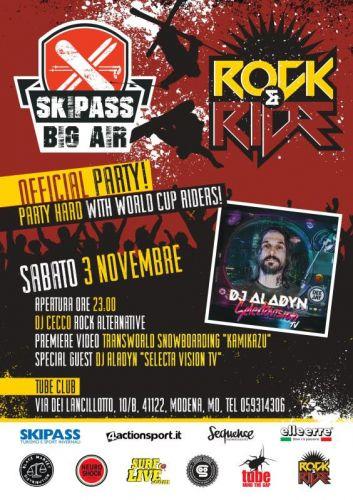 Kamikazu: la premiere italiana al party di Skipass Big Air!