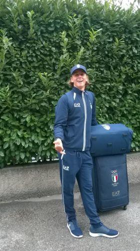 Nicolò Renna partito per le Olimpiadi Giovanili: una storia sportiva che sembra una favola
