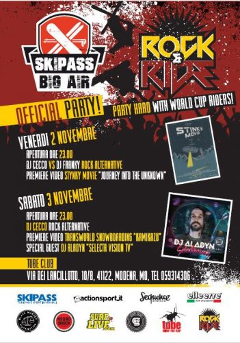 Rock and Ride Skipass Big Air Official Party