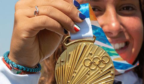 Sofia Tomasoni conquista l\'oro alle Olimpiadi