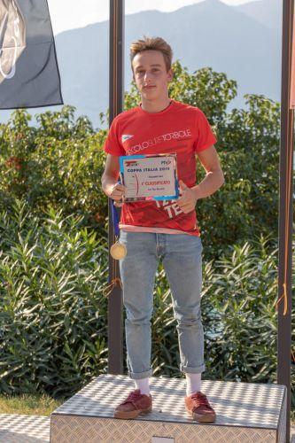 Tre medaglie alla Coppa Italia Techno 293 2018 per il Circolo Surf Torbole