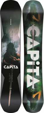 CAPiTA Defenders of Awesome: la perfetta all-mountain