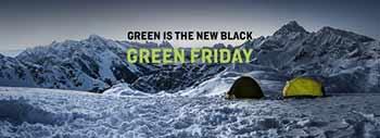 IL BLACK FRIDAY SI FA GREEN CON SALEWA