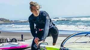 Morisio, podio mondiale con il windsurf