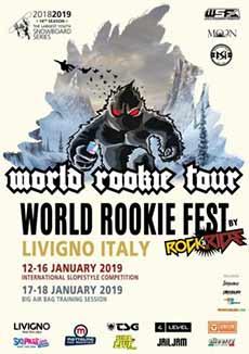 2019 World Rookie Fest by Rock&Ride: aperte le iscrizioni!