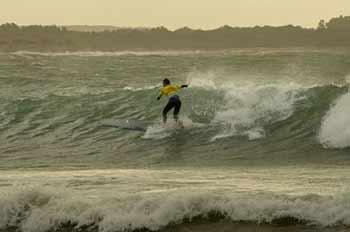 Prima giornata di gare ai FISW Surf Games