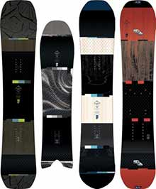 Rome Snowboards The Tram Line Collection