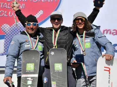 Bagozza e Brutto campioni 2019 banked slalom
