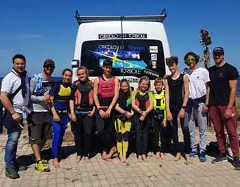 Giovanile techno 293 - Marsala 5 medaglie per gli atleti del Circolo Surf Torbole