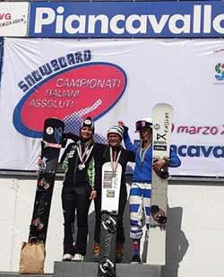 Mirko Felicetti e Jasmin Coratti vincono il gigante parallelo
