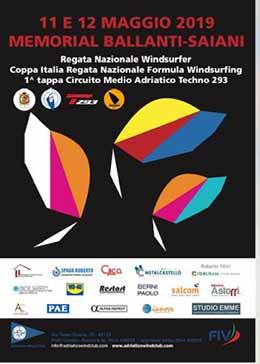 Coppa Italia Formula Windsurfing: la prima tappa 2019 a Porto Corsini (RA) 11-12 maggio