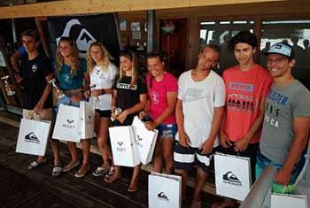 Cs AICW - I vincitori della 2^ tappa Campionato Italiano Giovanile Slalom