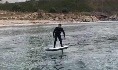 Surf e-foil con telecomando