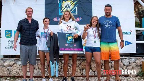 Anna Biagiolini vince la coppa del mondo di windsurf under 20