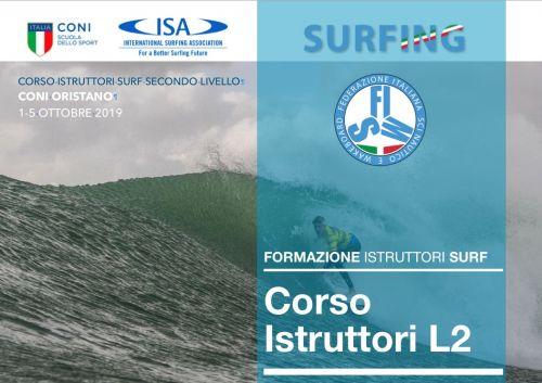 Corso Istruttori Surf di Secondo Livello FISW /SDS ISA SURF L2