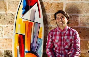 Il Marinedda Bay Open a sostegno del pianeta con l'arte di Vincenzo Ganadu