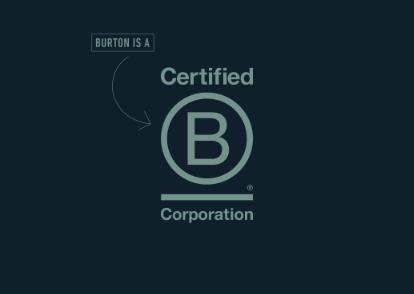 Burton Snowboards Annuncia la B Corp Certification
