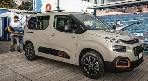 Citroën Berlingo, nato per il surf