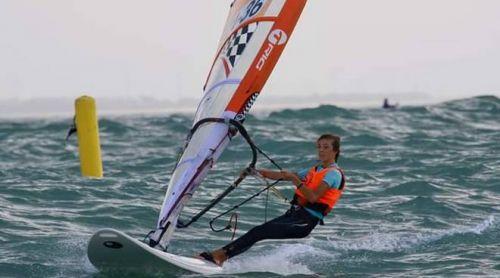 Sara Galati, ottimo piazzamento ai campionati mondiali di windsurf