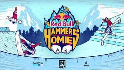 Red Bull Hammers with Homies