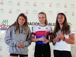 Sofia Renna seconda alla Settimana Olimpica Andalusa